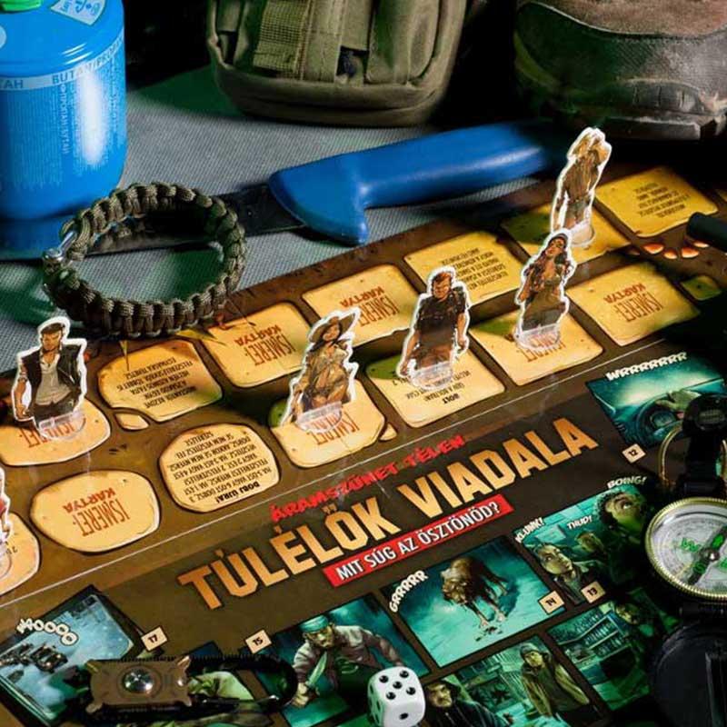 Szereplők játékban - Túlélők Viadala