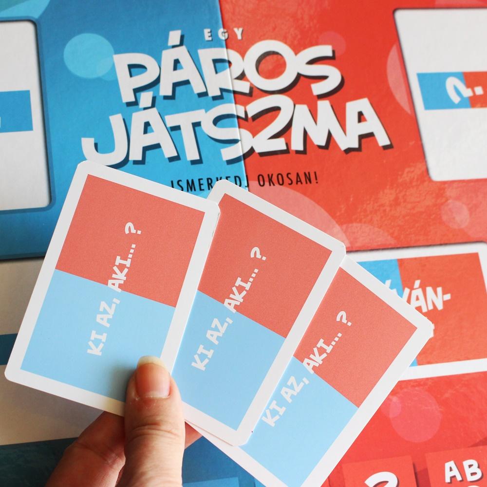 Páros Játszma kártyák
